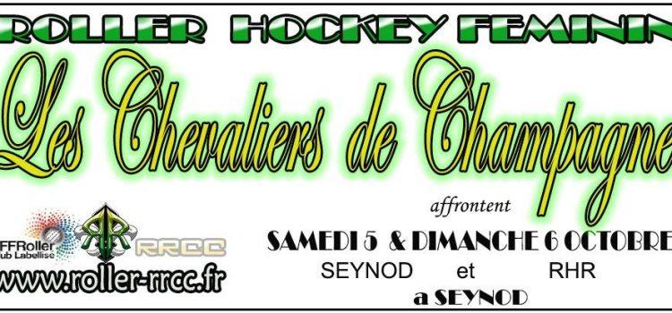 [Hockey] Féminin 5 et 6 Octobre