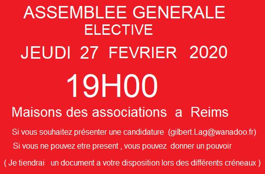 Assemblé générale élective